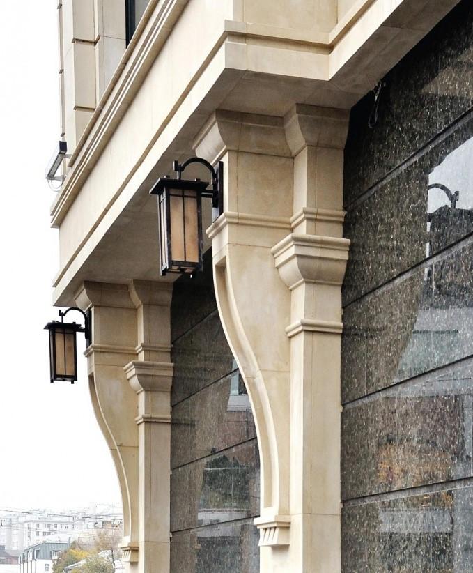 пилястры из архитектурного камня